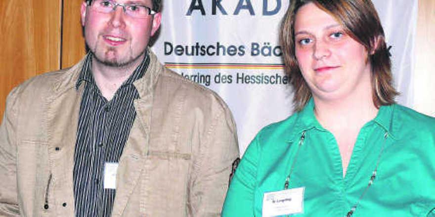 Sorgen für die überbetriebliche Ausbildung: Jan-Uwe Wolzenburg in Kassel und Margarete Lengeling in Weiterstadt.