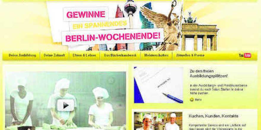Internetseite: http://www.back-dir-deine-zukunft.de