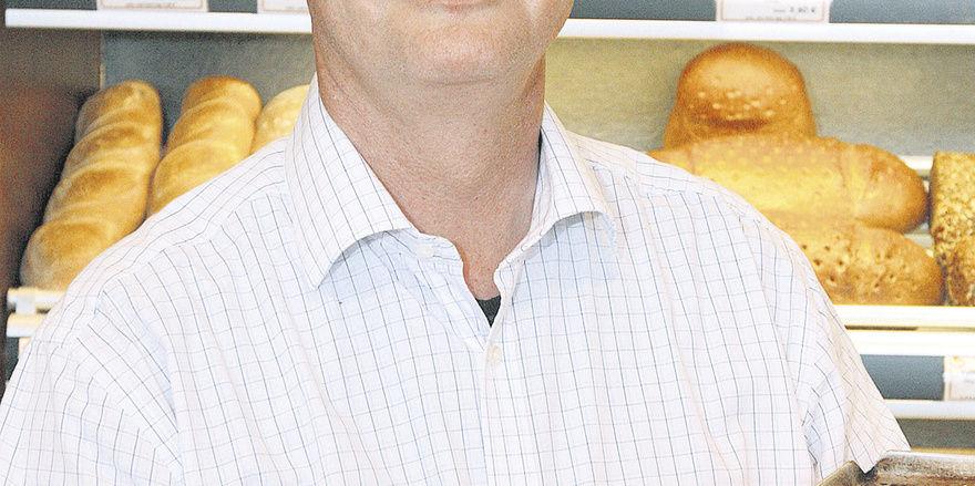 """""""Freiheit für das Sonntagsbrötchen"""" fordert Bäckermeister Thomas Schaper aus Braunschweig."""