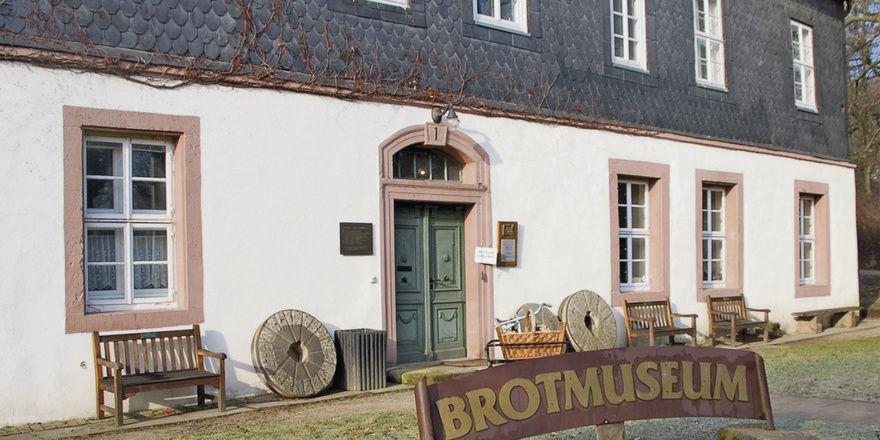 Fachmuseum mit kulturhistorischer Sammlung: das Europäische Brotmuseum.