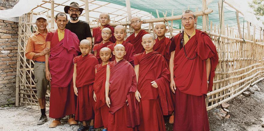 Bäcker unter Mönchen: In Tibet hilft Joachim Weckmann beim Aufbau von Bäckereien.