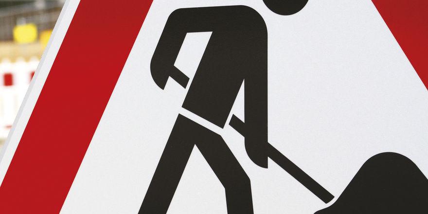 Wenn Bauarbeiter anrücken, bleiben nicht selten Kunden fern.