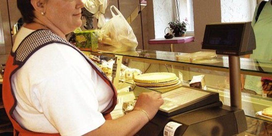 Linerless-Bons sind praktische Klebebons, die von der Bizerba-Kassentechnik geliefert werden.