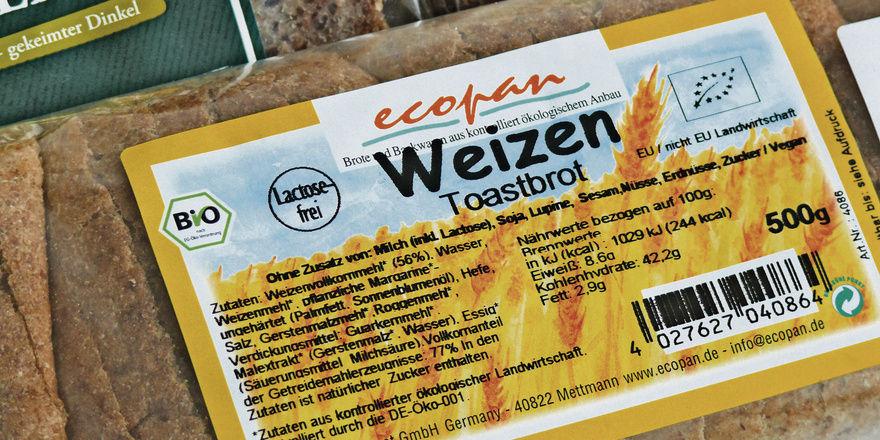 Bei vorverpackten Backwaren müssen Zucker-, Eiweiß-, Fett, Kohlenhydrat- und Salzgehalt angegeben werden.