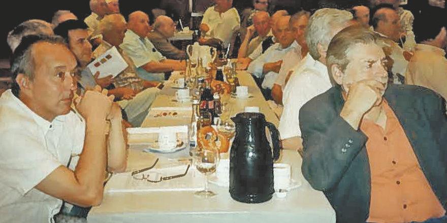 Mitglieder und Gäste auf der 99. Generalversammlung der Mittelbaden, die sich über die solide Geschäftsentwicklung informierten.