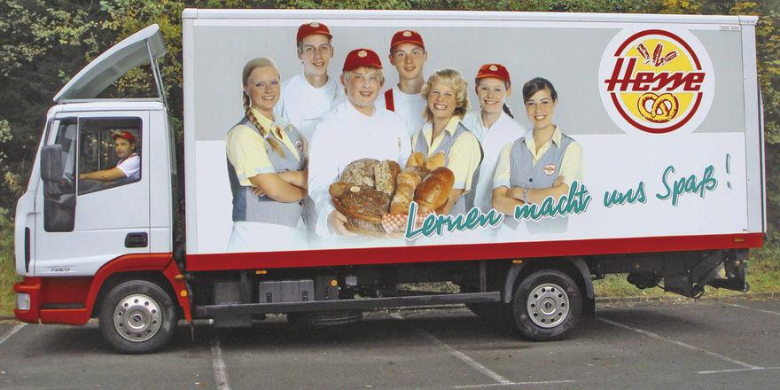 Vorbildliche Aktion: Für die Bäckerei Hesse sind die Azubis sichtbare Aushängeschilder des Betriebs.