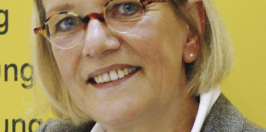 Verbandsgeschäftsführerin Bettina Emmerich-Jüttner.