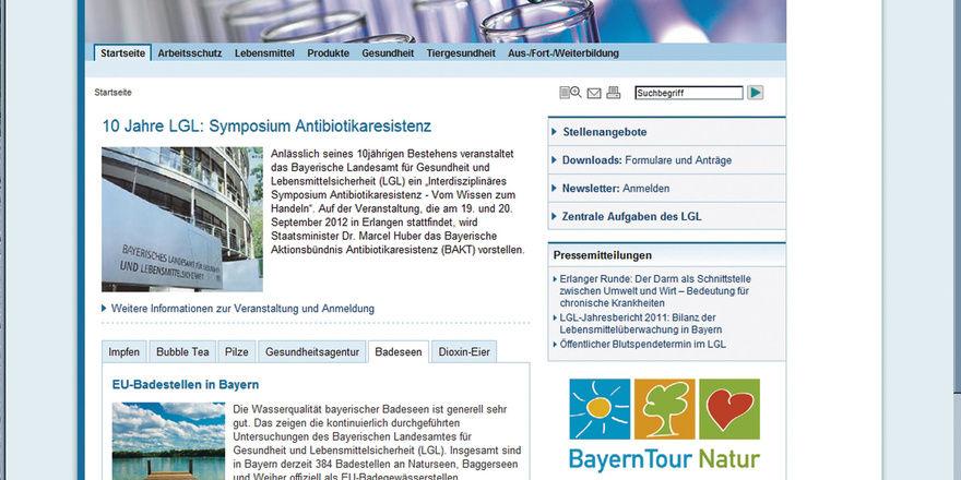 Auf der Website des bayerischen Landesamtes für Gesundheit und Lebensmittelsicherheit (LGL) landen künftig Betriebe, die bei Lebensmittelkontrollen negativ auffallen und denen ein Bußgeld in Höhe von mindestens 350 Euro droht.