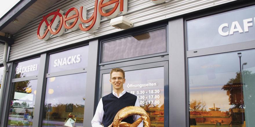 Mathias Meyer wird Meyer's Bäckerei GmbH in die Zukunft führen.