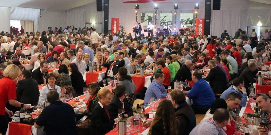 Volksfeststimmung bei den Österreichischen Bäckertagen in Asten.