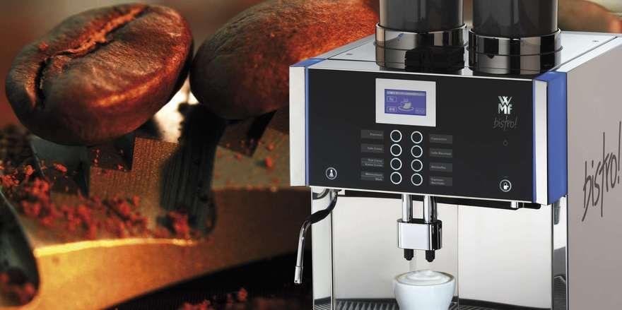 Kaffeemaschinen für den professionellen Einsatz sind die Umsatztreiber von WMF