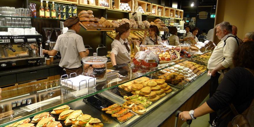 Lediglich um 0,6 Prozent klettern die Erlöse in der Ernährungsindustrie.