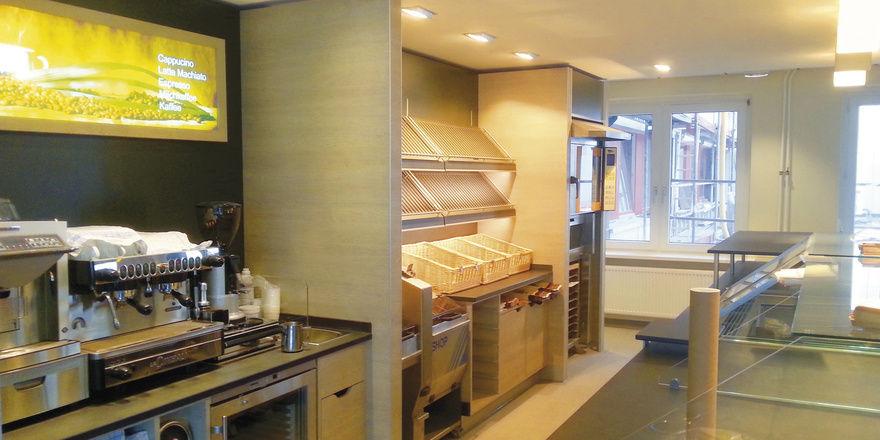 Die Bäckerfachschule Hannover hat nach dem Komplettumbau nun auch einen Übungsbereich für die Bäckergastronomie.