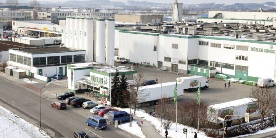 Die ehemalige Produktionsstätte von Müller-Brot in Neufahrn.