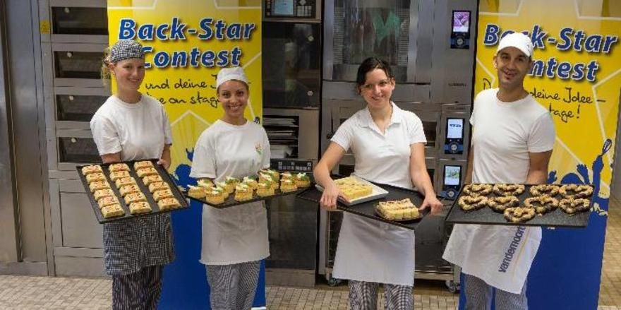 Die Finalisten Aileen Johannsen, Anna Amirjanyan, Miriam Beutner und Fethi Lahmidi, hatten sich allesamt mächtig ins Zeug gelegt.