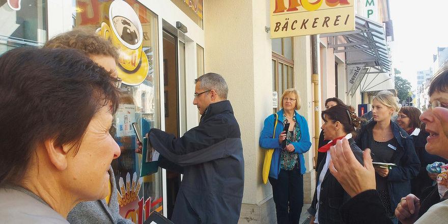 Die Bäckerei Neu ist eine der Stationen der Aktion Karlsruher Mehlspur.