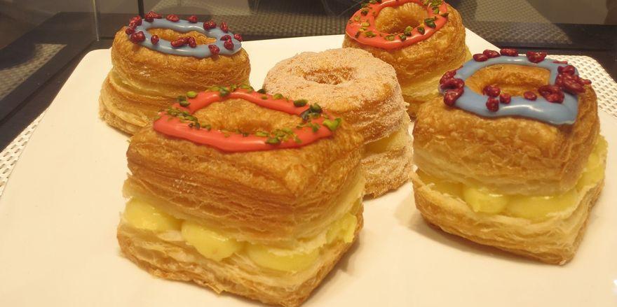 Die süße Kombination aus Donut und Croissant: Cronut.