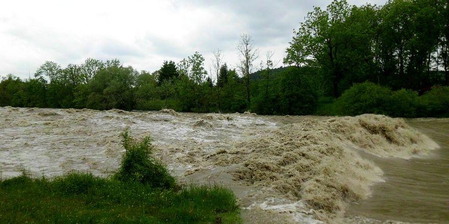 Das Hochwasser Anfang Juni zerstörte auch viele Bäckereibetriebe.