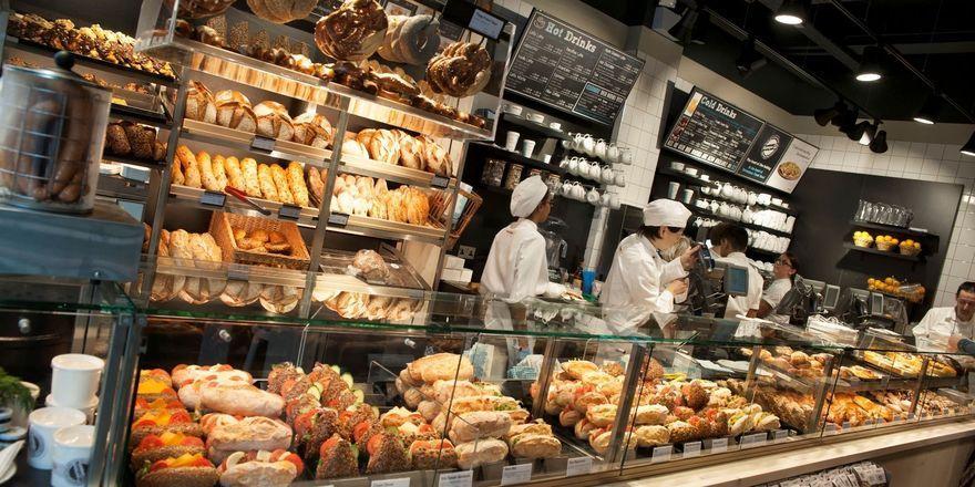 Ansicht der Bäckerei in der Tottenham Court Road: Kamps will sich schnell und eindeutig im Snack-Markt positionieren.
