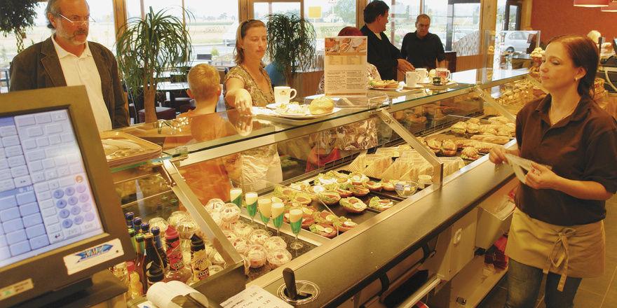 Bäcker Mack in Butzbach betreibt das Snackgeschäft seit Jahren systematisch – und sehr erfolgreich.