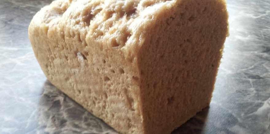 Prototyp des krustenfreien Brotes, das an der Hochschule Fulda entwickelt wurde.