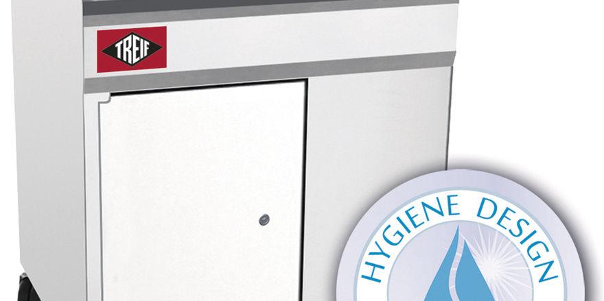 Die Schneidemaschinen sind nach durchdachtem Hygiene-Konzept konstruiert.