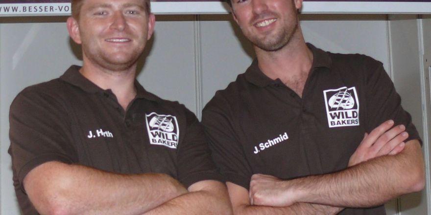Johannes Hirth (links) und Jörg Schmid: Die Wildbakers sind Vorreiter im Show-Baking.