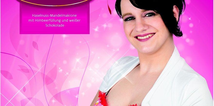 Apartes Werbegesicht: Sarah Wehlan ist eine gute Verkäuferin.