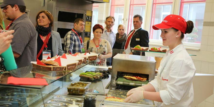 Neue Ideen rund um Snacks waren ein Programmpunkt bei Backaldrin in Asten.