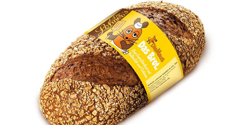 """Die Maus-Brote sind in den etwa 120 Filialen der Bäckerei """"Die Lohner's"""" erhältlich."""
