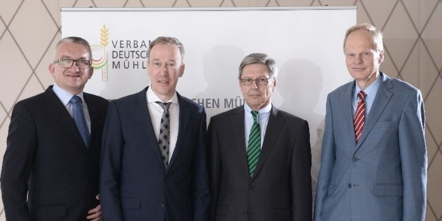 Die Sprecher des Vorstands mit VDM-Geschäftsführer (von links): Michael Gutting, Peter Haarbeck, Karl-Rainer Rubin, Hans-Christoph Erling.