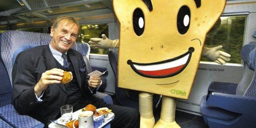 Roggenpower frühstücken und entspannt mit dem Zug auf Reisen gehen.