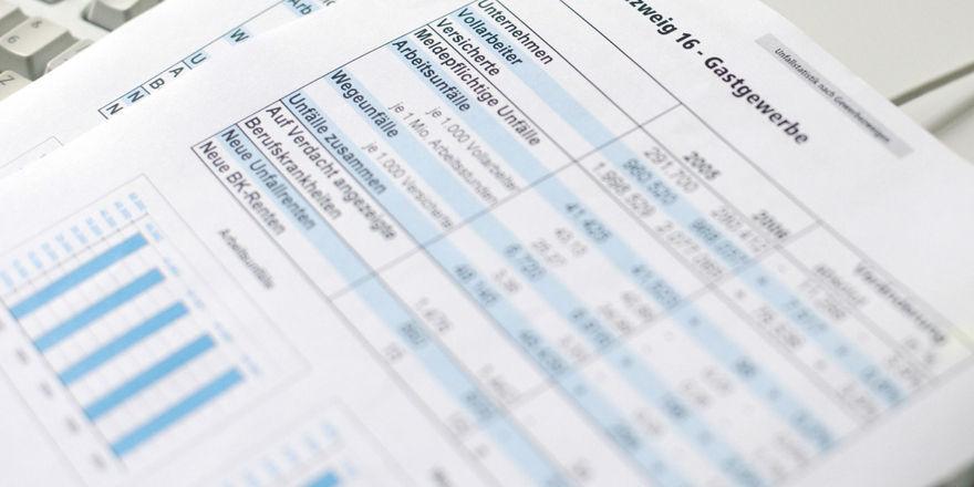 Die Berufsgenossenschaft zieht für das Jahr 2013 eine positive Bilanz.