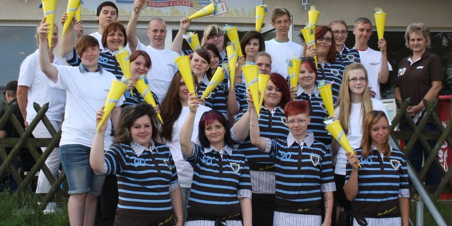 Auch in der Stendaler Landbäckerei absolvieren junge Menschen den ersten Arbeitstag.