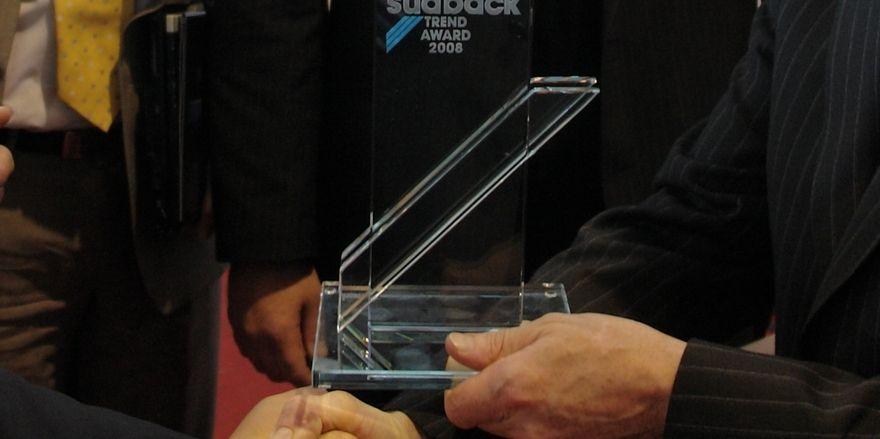 Der Trend Award gehört zu den begehrten Trophäen.