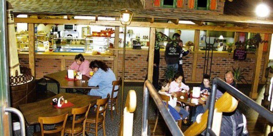 Filiale mit Flair im Modellbahnland Erzgebirge, das auch den Annaberger Bäckern gehört.