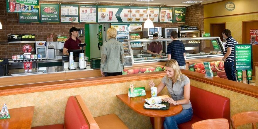 Subway will für Frische stehen und für leichte und gesunde Kost.
