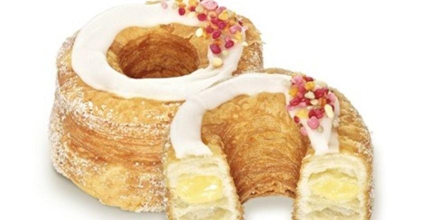 Der Cronut-Hype hat auch Hersteller wie Vandemoortele zu neuen Kreationen inspiriert, hier der Crousti Donut Vanilla.