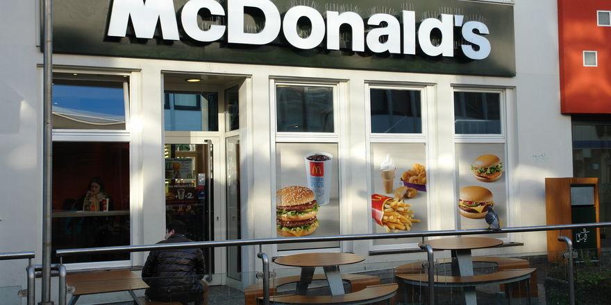 Statt altbekanntem McDonald's Schriftzug steht über einem Restaurant in Sydney The Corner.