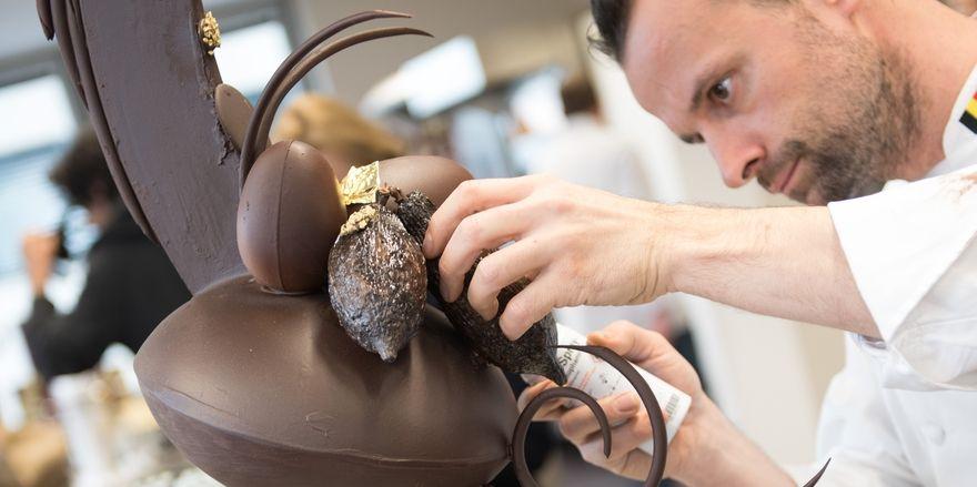 An der neuen Akademie werden die vielfältigen Anwendungsbereiche von Schokolade vorgestellt.