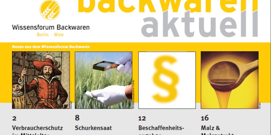 """Die Ausgabe 1/2015 von """"Backwaren aktuell"""" kann heruntergeladen oder als Print-Ausgabe angefordert werden."""