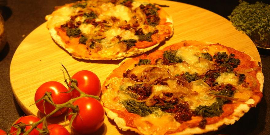 Pizza klassich oder vegan - beim Lieferdienst World of Pizza hat der Kunde die Wahl.