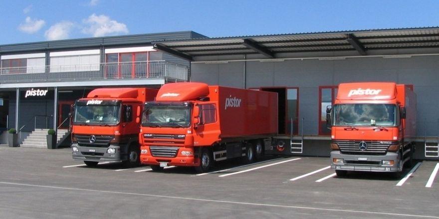Pistor beliefert Standorte in der ganzen Schweiz und verfügt über eine leistungsstarke Logistik.