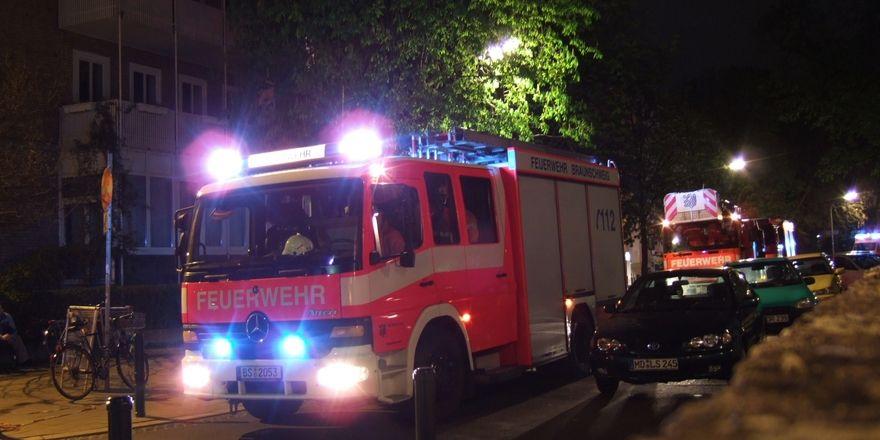 Nach zwei Stunden hatte die Feuerwehr den Brand gelöscht.