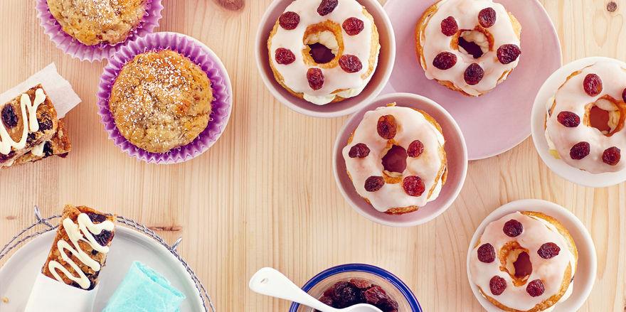 Beim Rezeptwettbewerb mit kalifornischen Rosinen können Bäcker mit Kreativität und Fachwisssen unter anderem eine Reise nach Kalifornien gewinnen.
