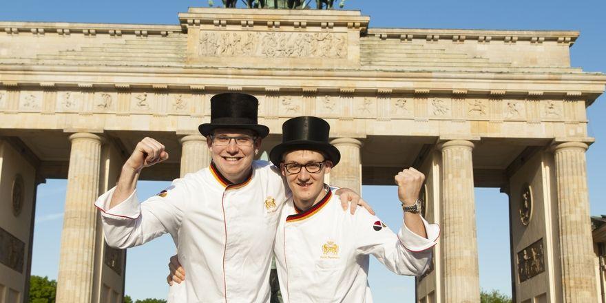 Marc Mundri und Felix Remmele (von links) treten beim Iba-Cup in München für Deutschland an.