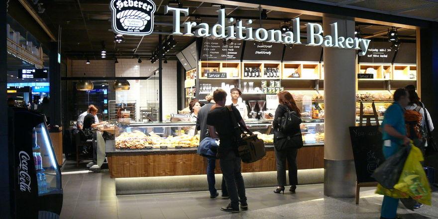 Die Wiener Feinbäckerei Heberer am Standort Flughafen Frankfurt, einem von vielen mit hohem Publikumsverkehr.