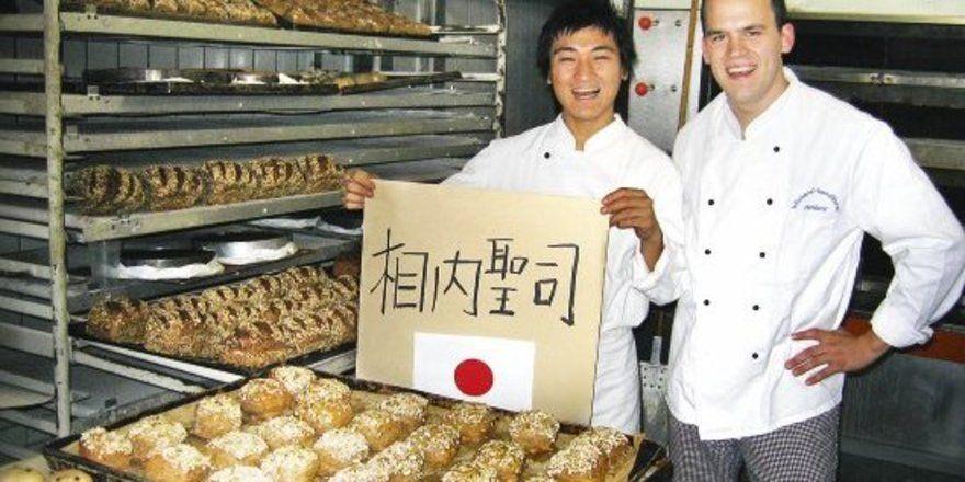 "Seiji Aiuchi aus Tokio und sein ""Lehrherr"" Christian Rembor. <tbs Name=""foto"" Content=""*un""/>"