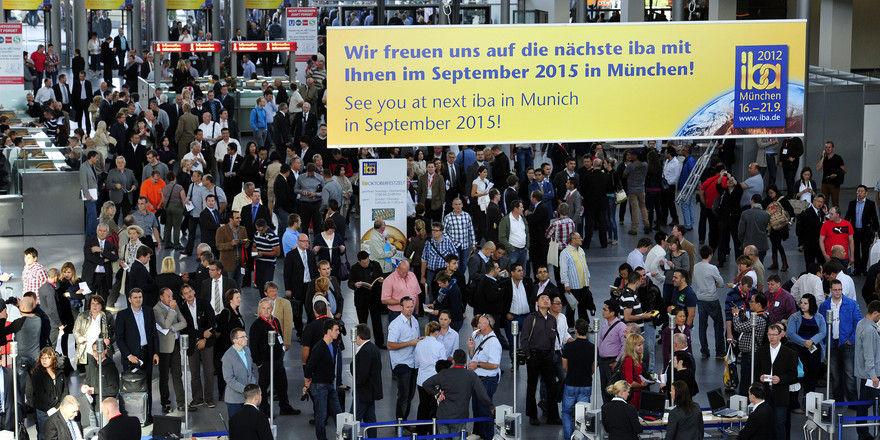 Aus dem In- und Ausland kommen Bäcker und Konditoren zur Messe nach München.
