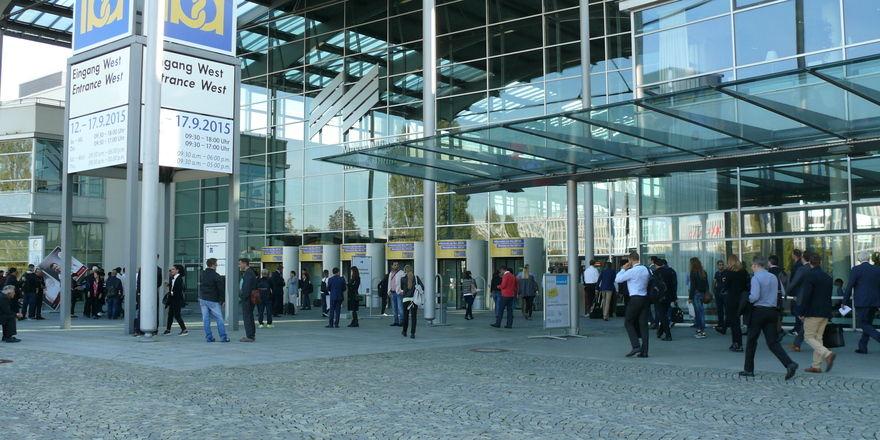 Das Messegelände in München bleibt weiterhin Veranstaltungsort der Iba.